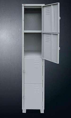 Armário de aço 4 portas