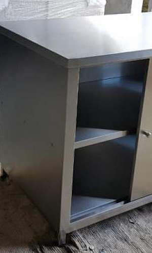 Armário inox 4 portas