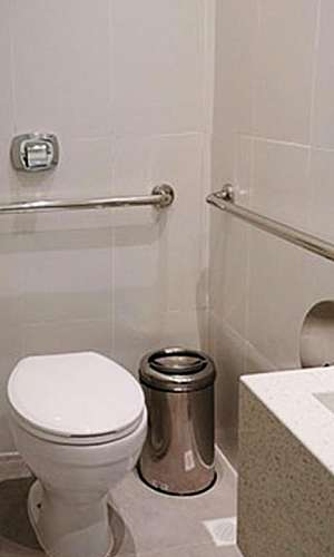 Barras de apoio para deficientes