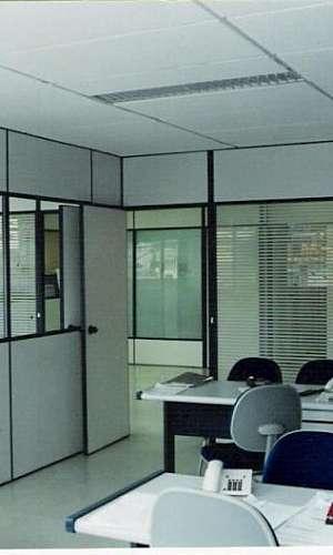 Divisória de escritório valor