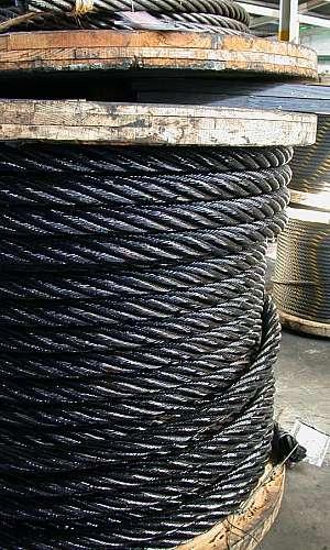 Fabricante de cabos de aço