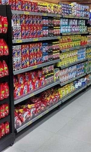 Gôndola supermercado