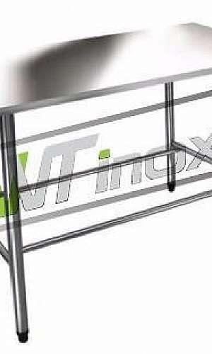 Mesa de Aço Inox