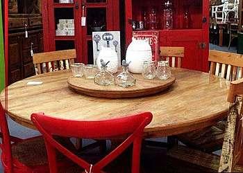 Mesa de jantar aço inox